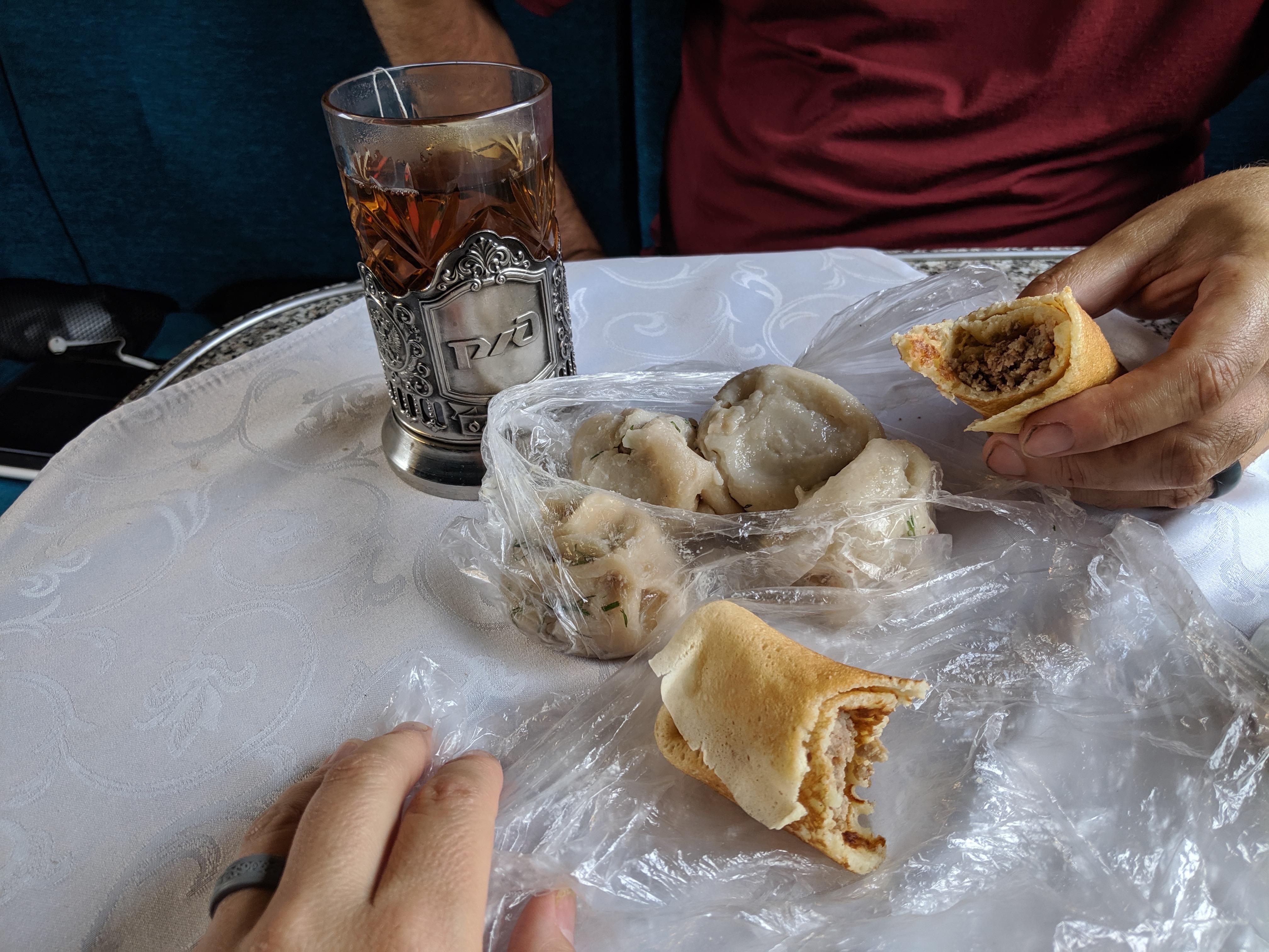 """Trans-Siberian """"street food"""""""