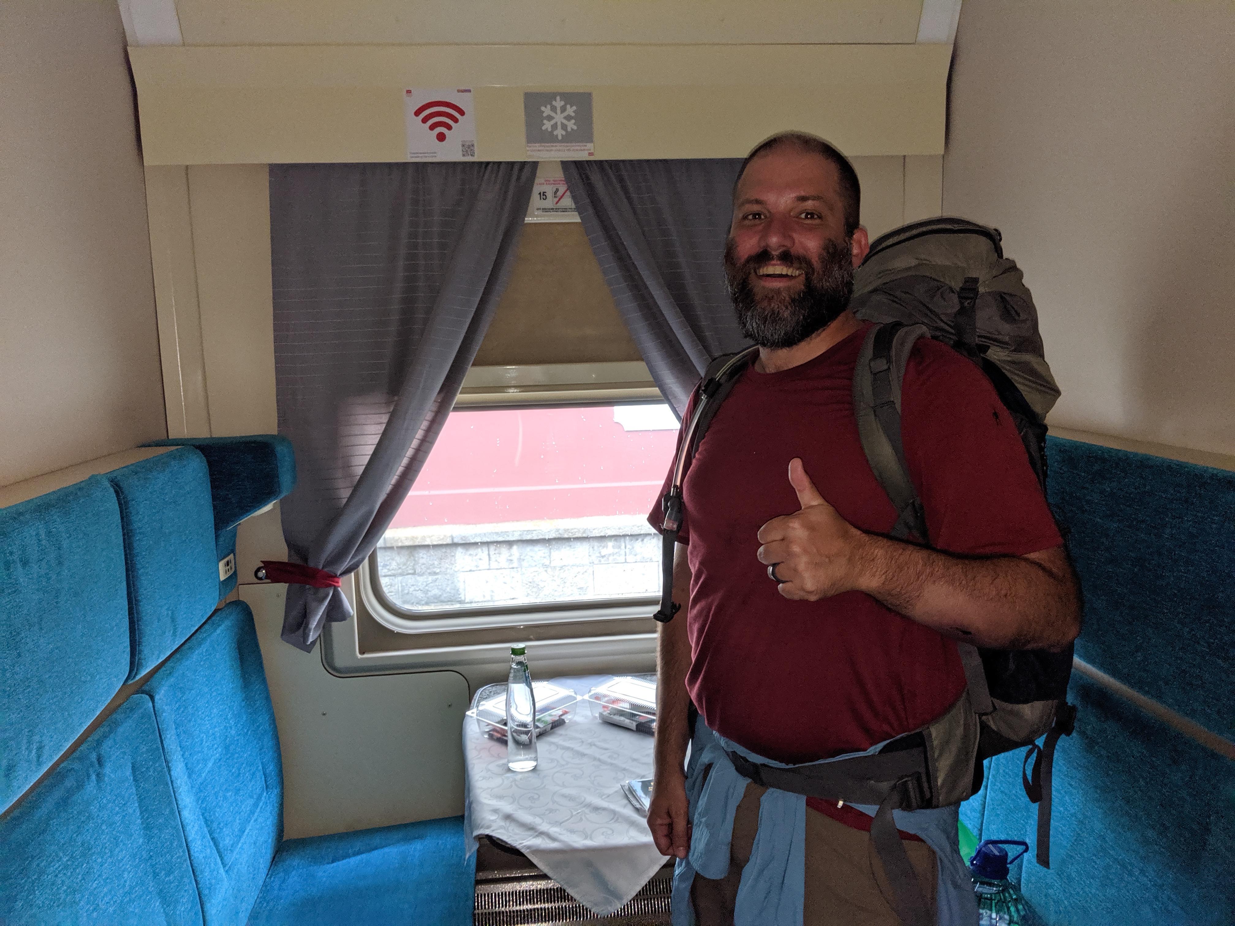 Trans-Siberian First Class