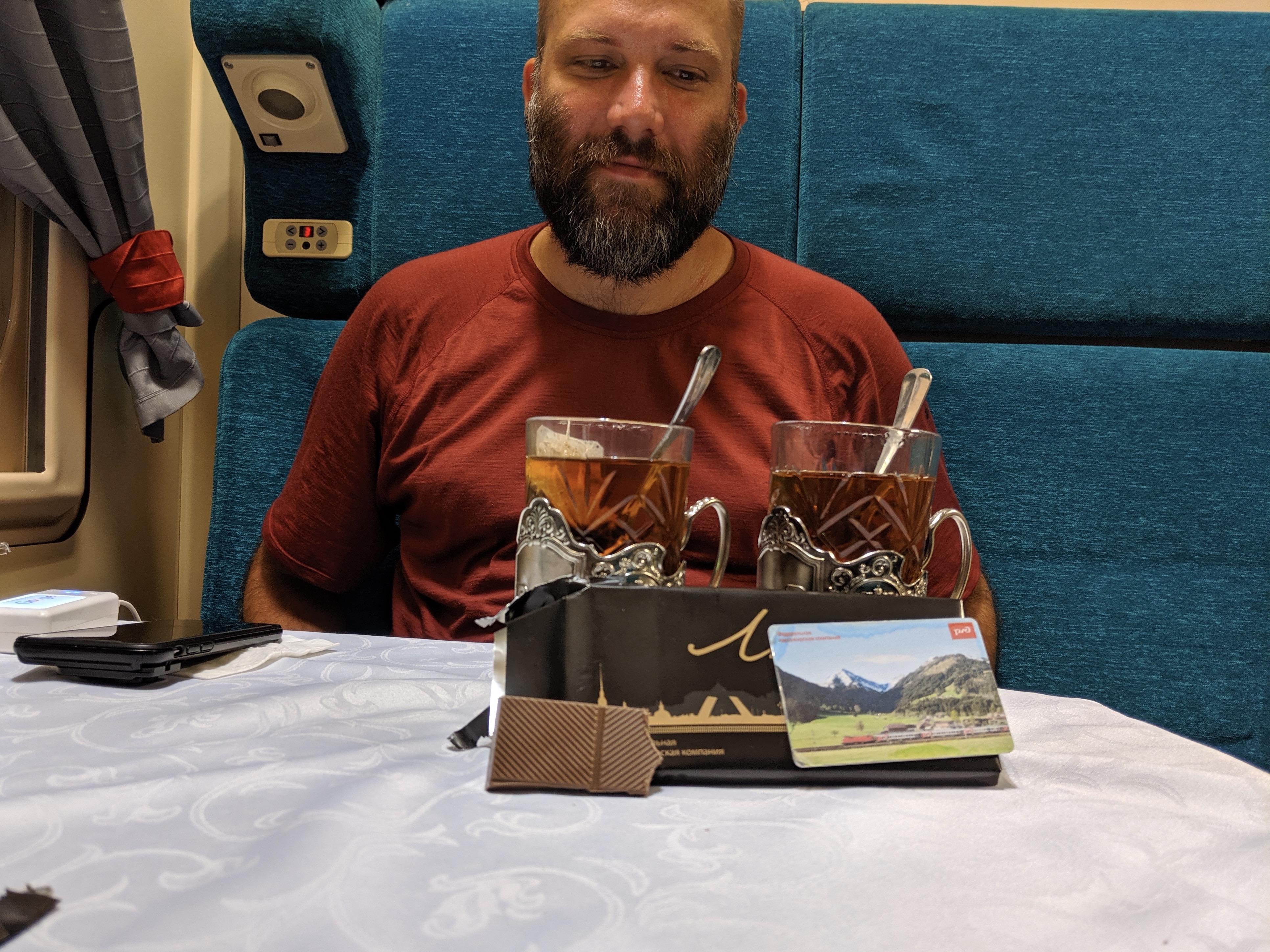 Trans-Siberian Tea & Chocoloate