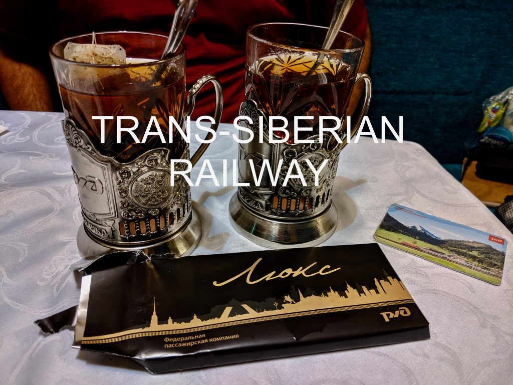 Tea and chocolate on the Trans-Siberian Railway