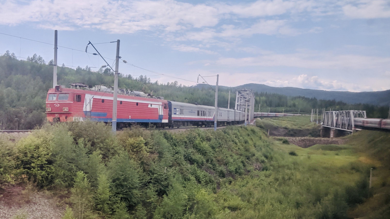 Two Trans-Siberian Trains