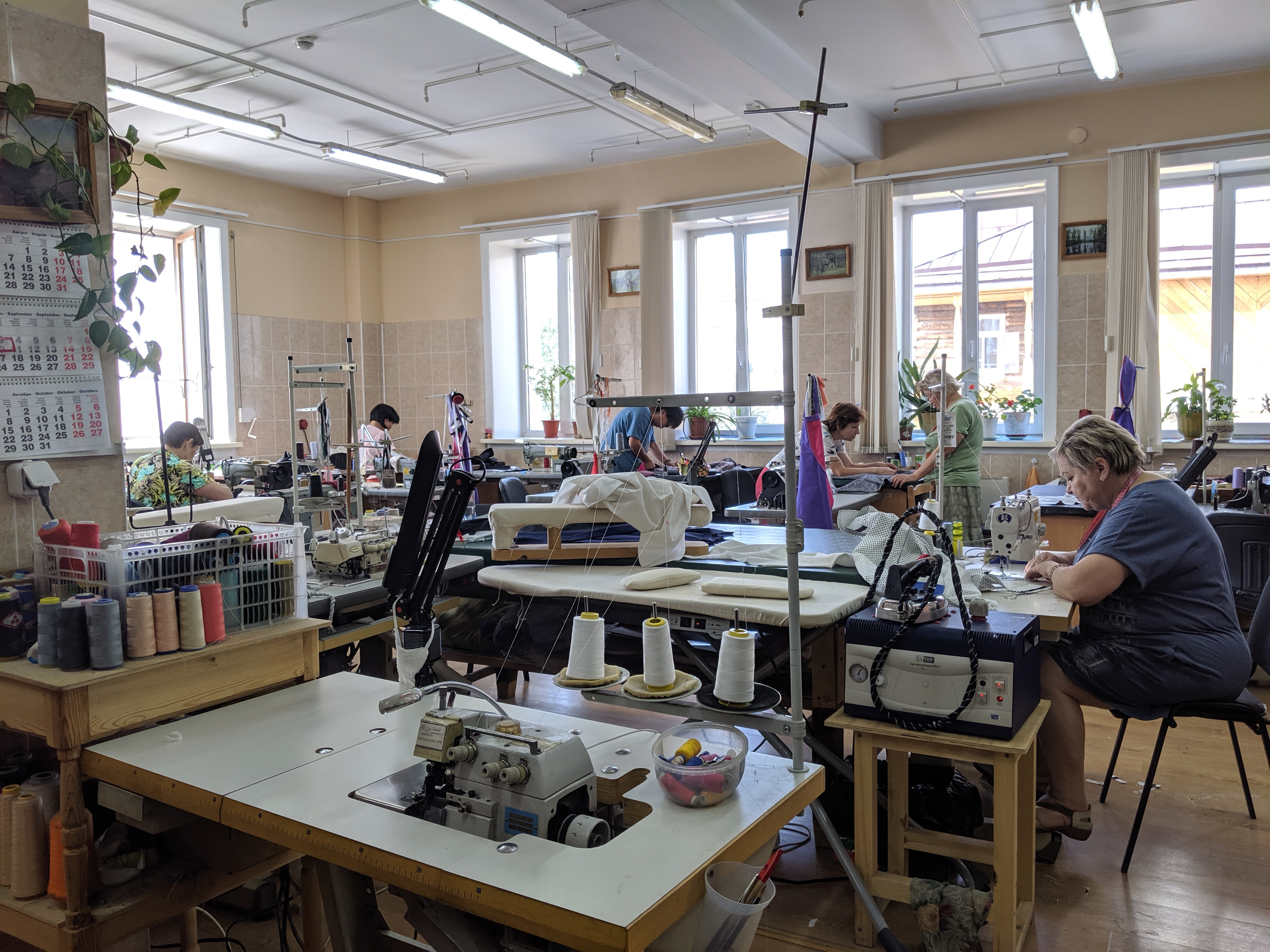 Costume room at ballet theater in Ulan-Ude, Russia