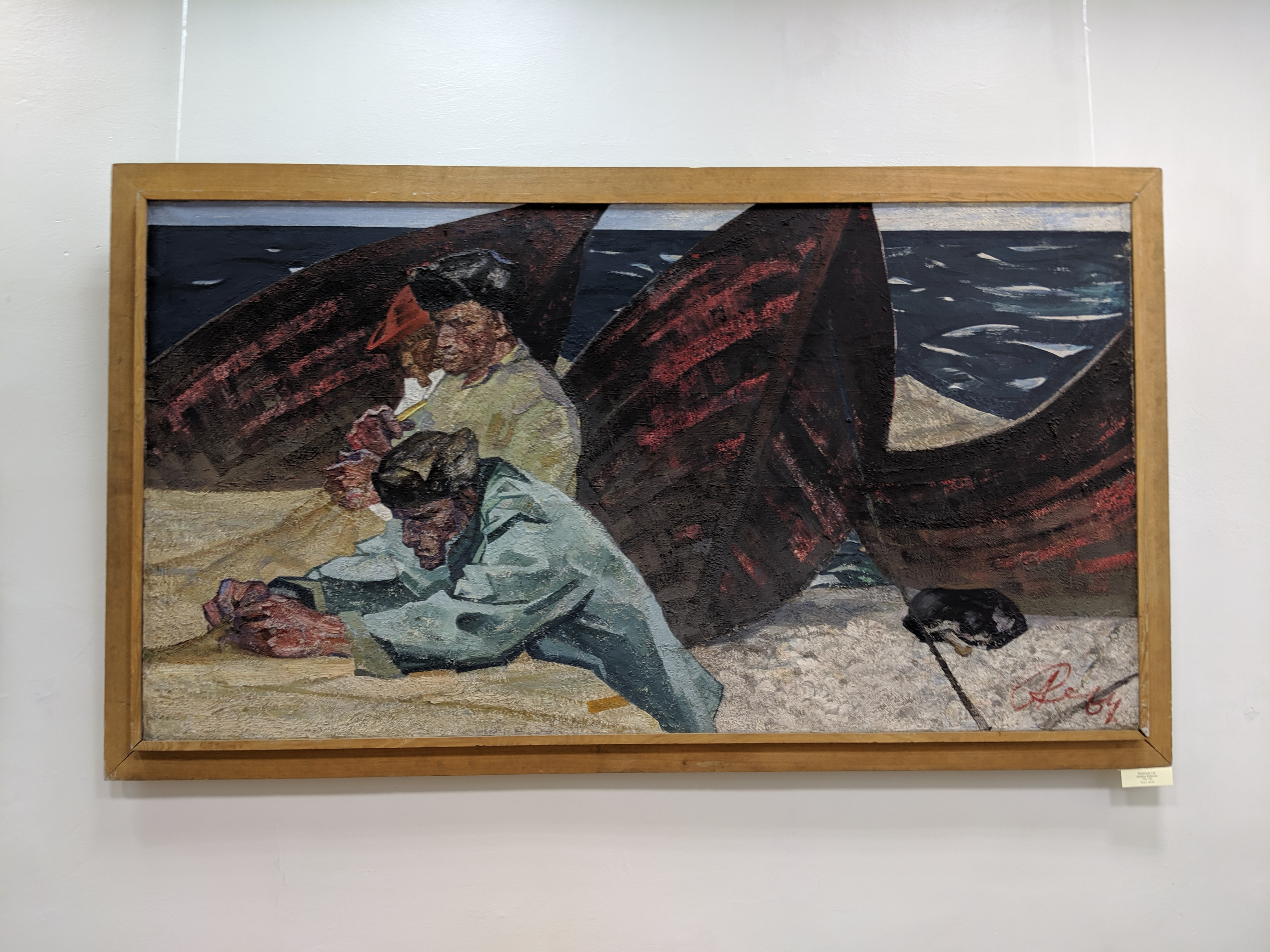Painting at art museum in Ulan-Ude