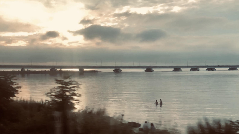 Sunset on the Trans-Siberian