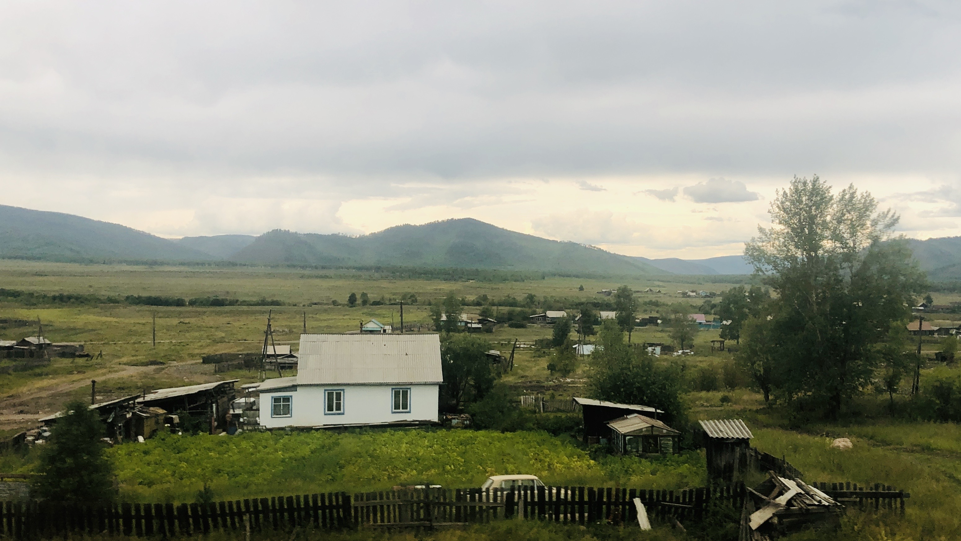 Another Trans-Siberian Village