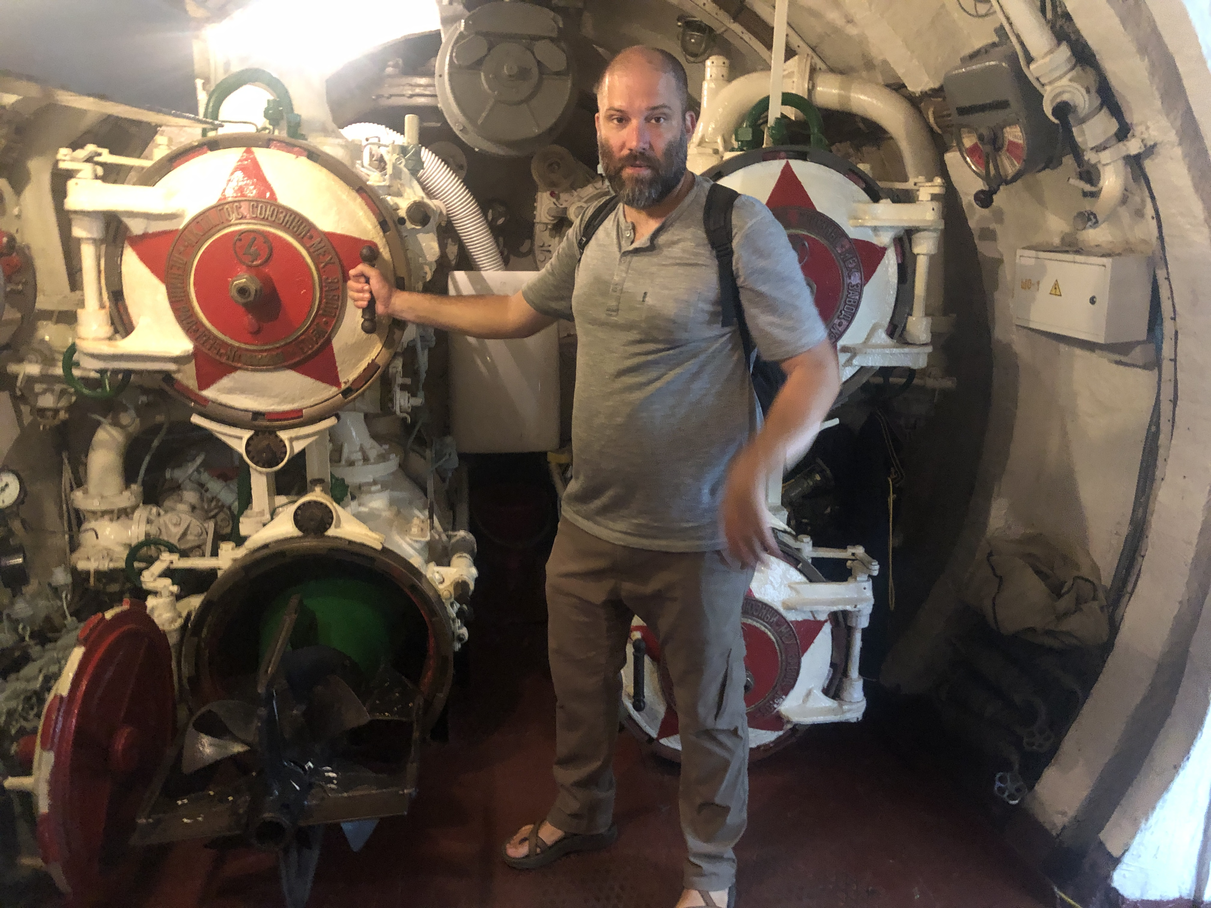 That time I almost fired a torpedo from a WWII Russian Sub