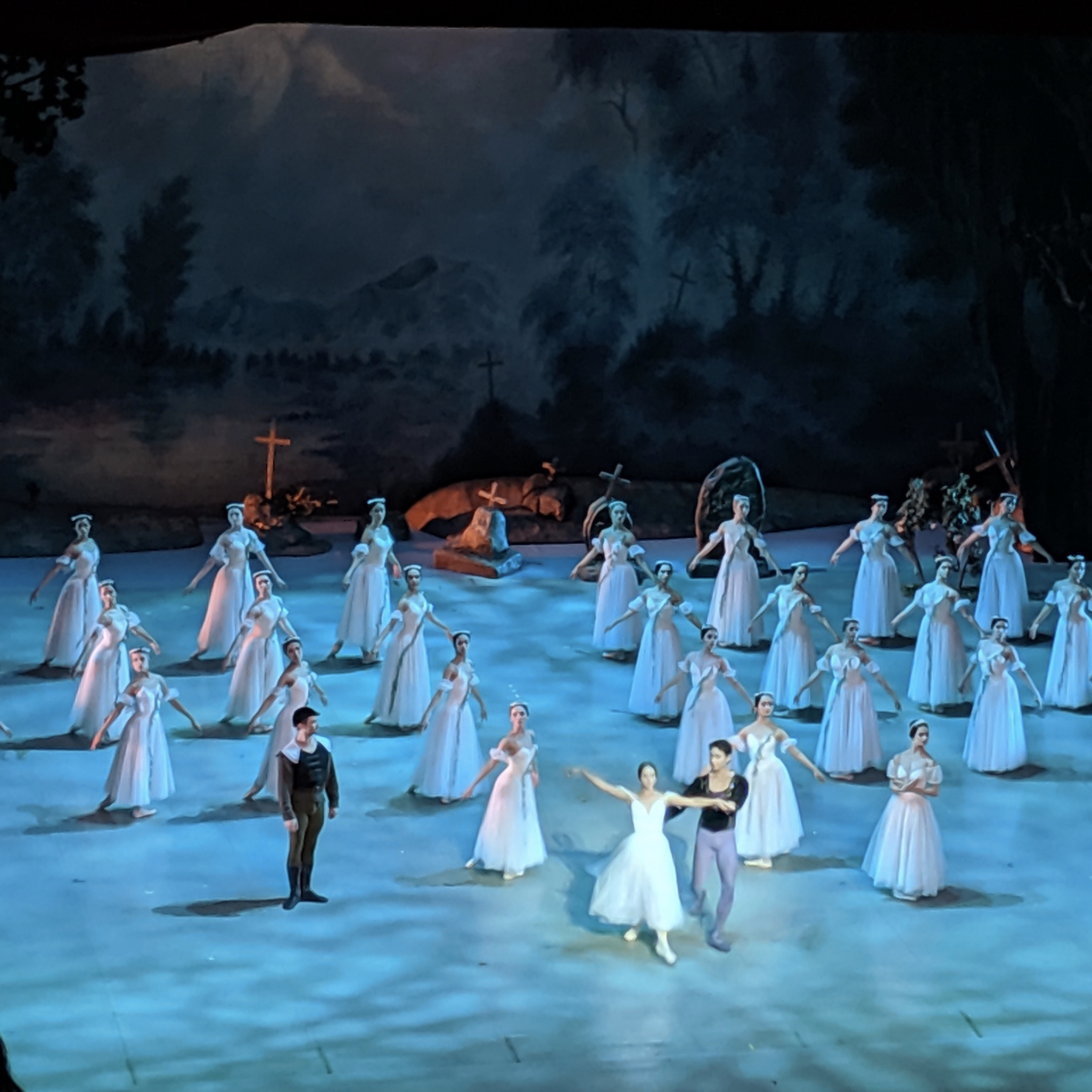 Giselle at the Primorsky Stage in Vladivostok